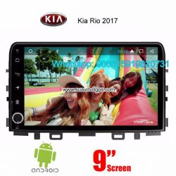 Kia Rio 2017 car audio radio update android wifi GPS camera